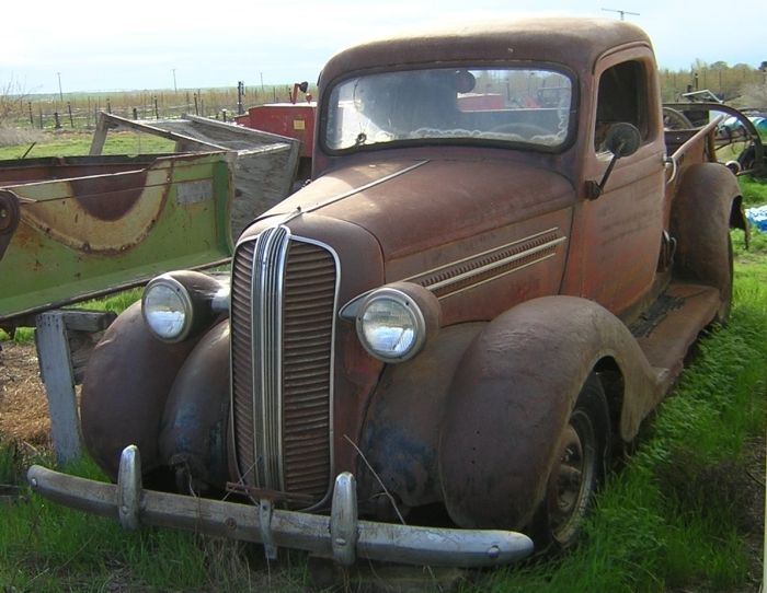 1937 Dodge 1/2 Ton Pickup Barn Finds,Junk Yard Cars etc Trucks