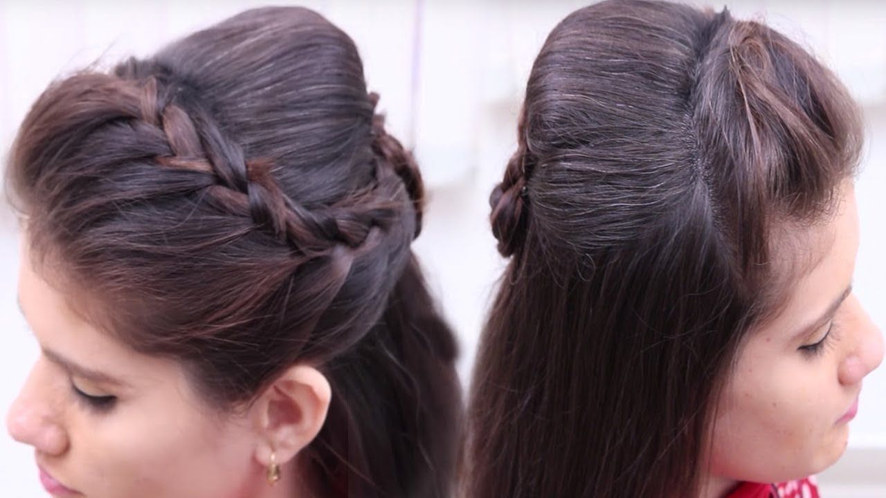 Easy \u0026 Beautiful Hairstyles for Wedding or Function