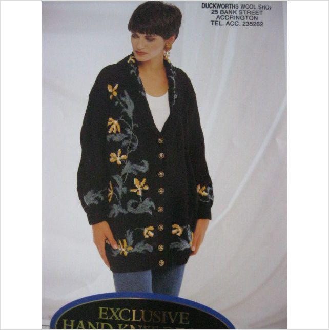 Jaeger Knitting Pattern 5084 Ladies Shawl Collar Jacket Bust 34 40