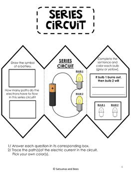 Electricity and Circuits-Interactive Science Notebook
