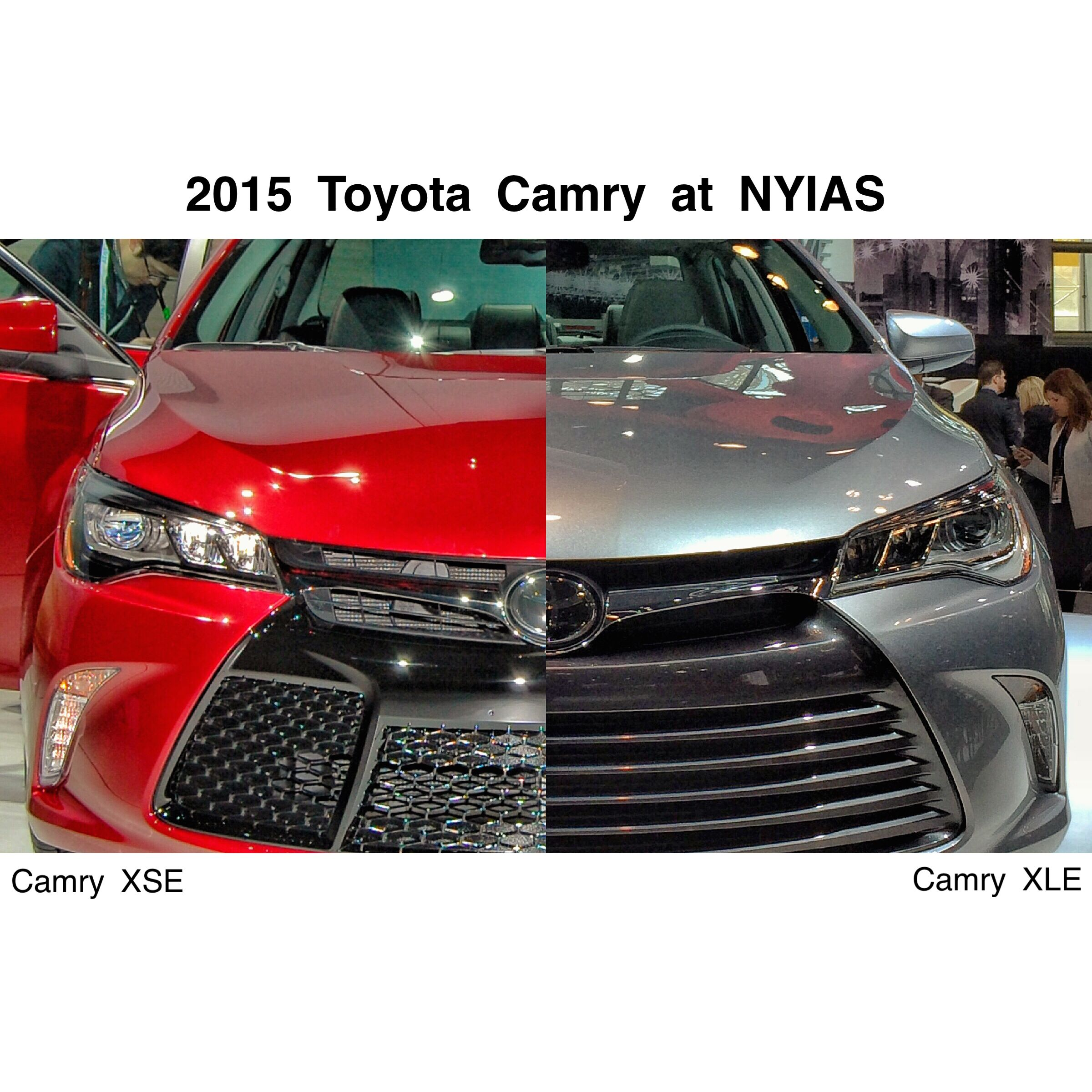 2015 toyota camry xse xle at nyias
