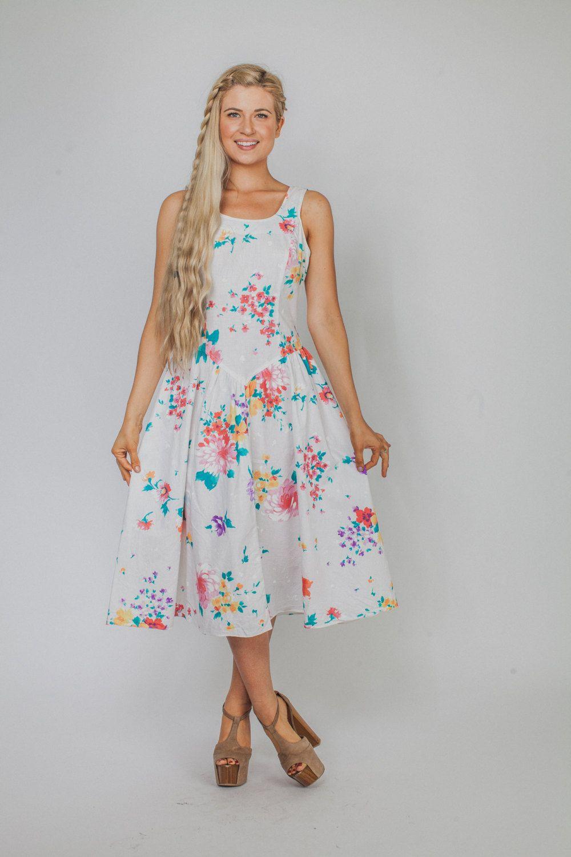 58c84a732bee Vintage dress/ 80s sundress/ SUNDRESS/ SUMMER by Raxclothing, $29.99 ...