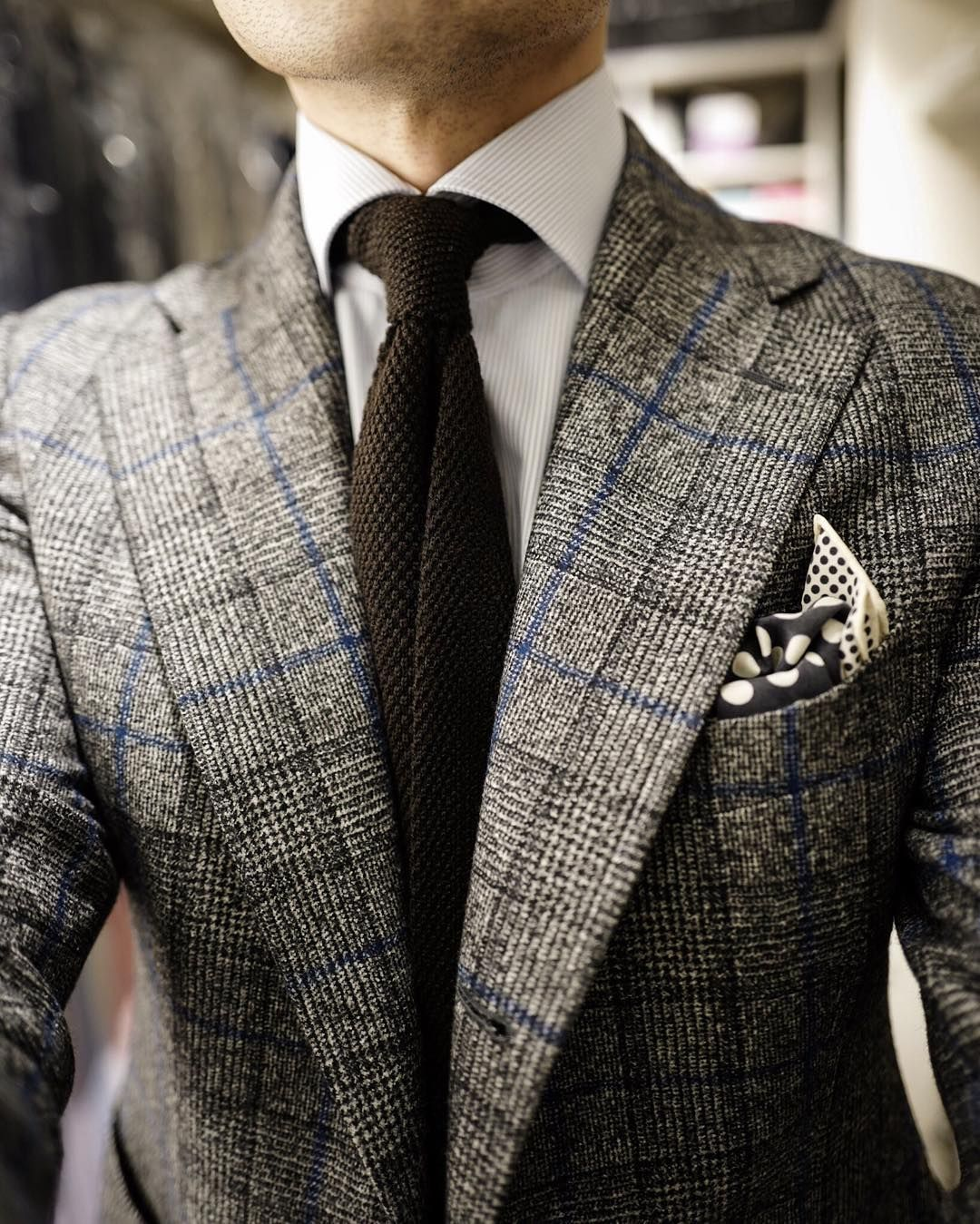 Bring back the Collar Pin | Neckwear fashion, Knit tie, Mens