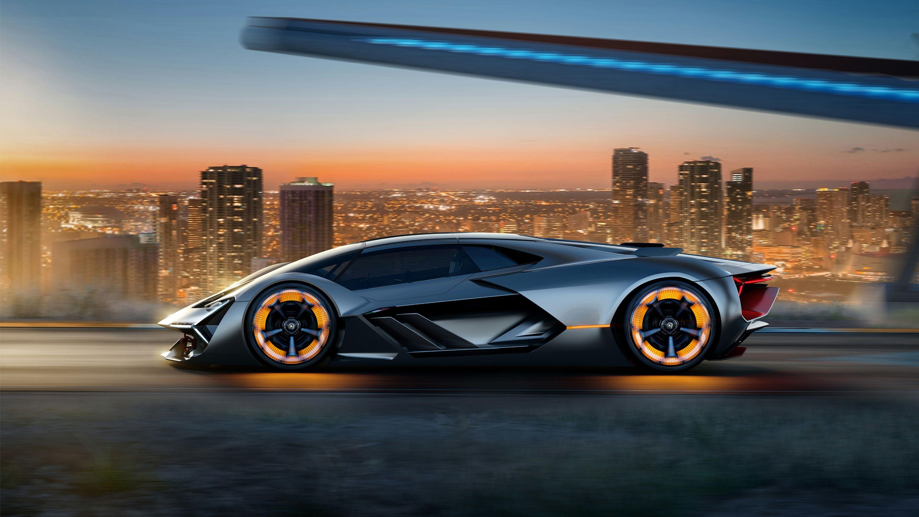 Wallpaper 4k Lamborghini Terzo Millennio 2017 Concept Car 2017