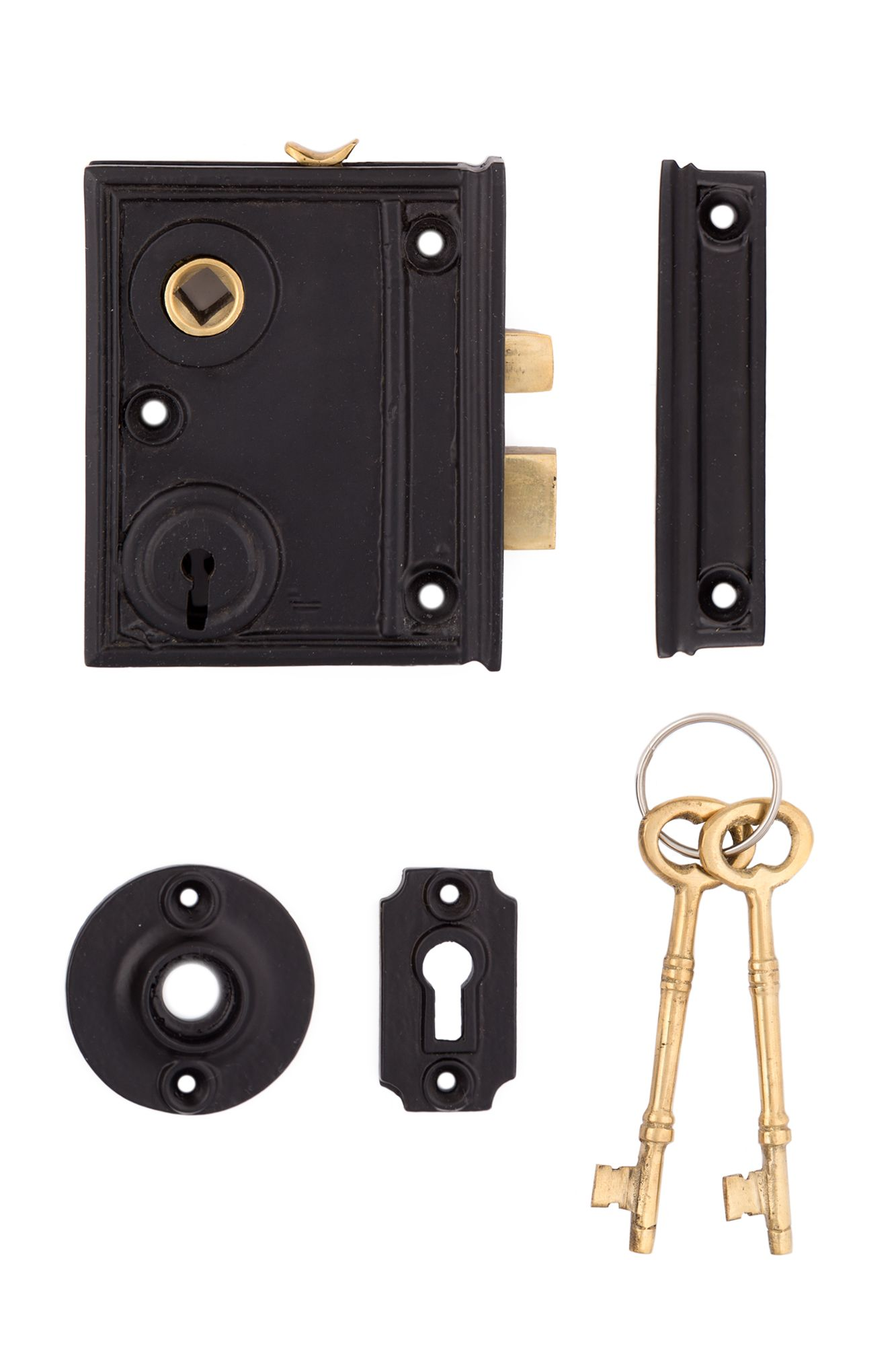 Reproduction Vertical Cast Iron Rim Lock From The Charleston Hardware Co Lock Set Cast Iron It Cast