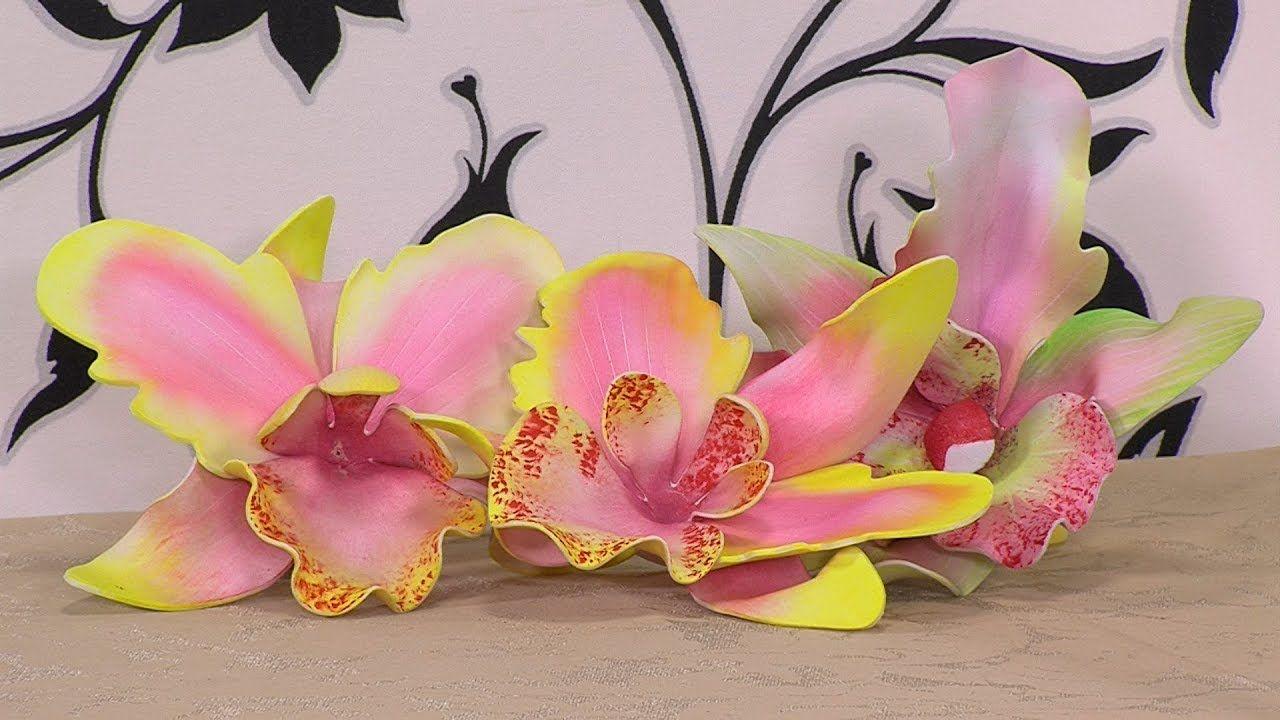 Como Hacer Flores en Foami - HogarTv por Juan Gonzalo Angel