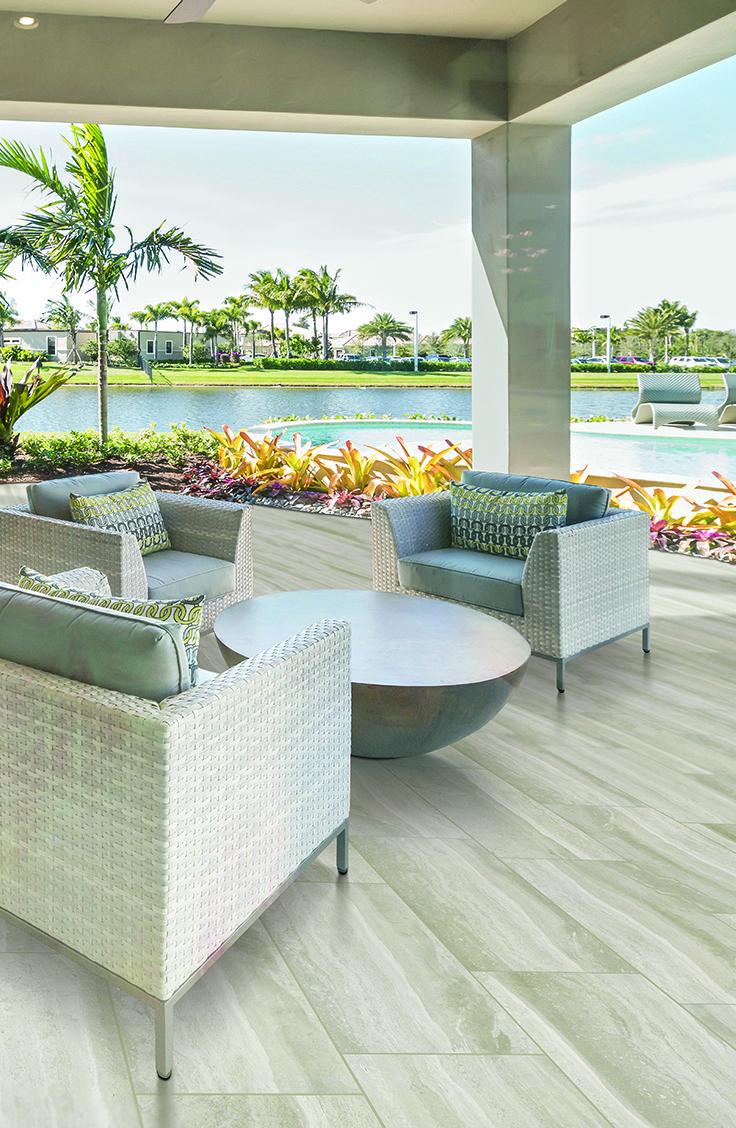 Mohawk flooring 39 s trovato tile in montage grey tile for Montage floors