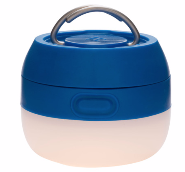 The Black Diamond Moji 100 Lantern is a compact camp lantern that features a durable construction, a great pick for your weekend camping.