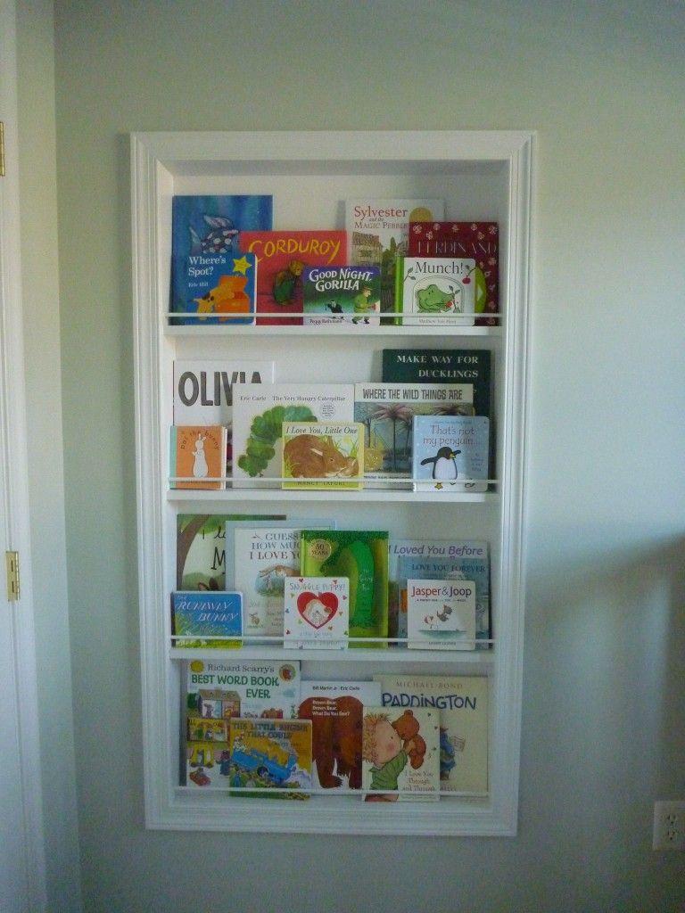 Recessed Between Stud Bookshelf