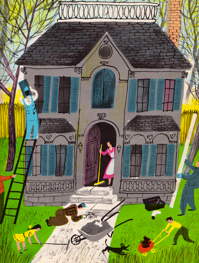 The House of Four Seasons - written & illustrated by Roger Duvoisin (1956).