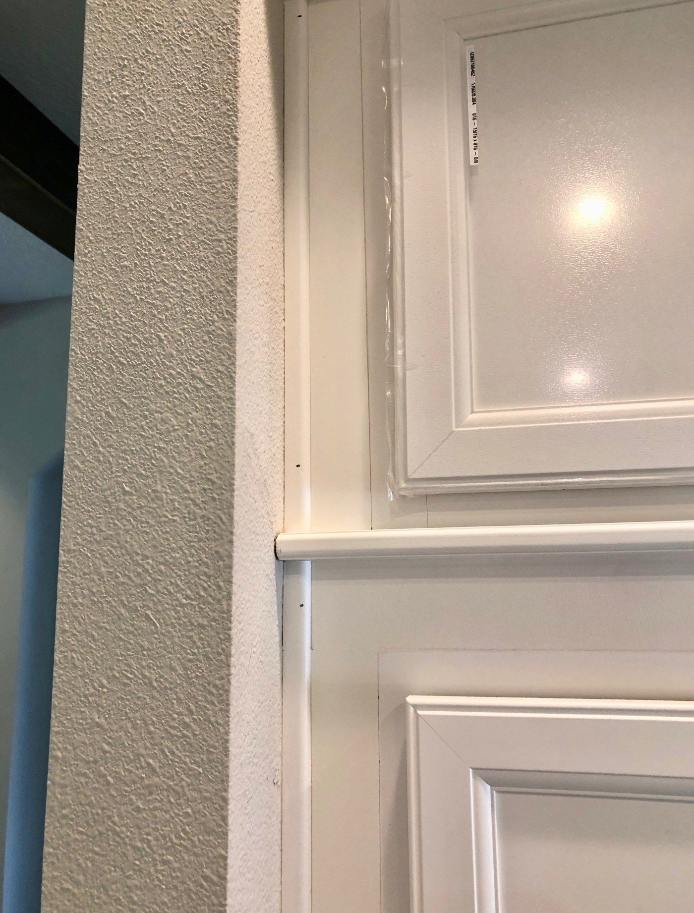 Diy Stacked Kitchen Cabinets Frills And Drills In 2020 Kitchen Cabinets Painted Kitchen Cabinets Colors Kitchen Inspiration Design