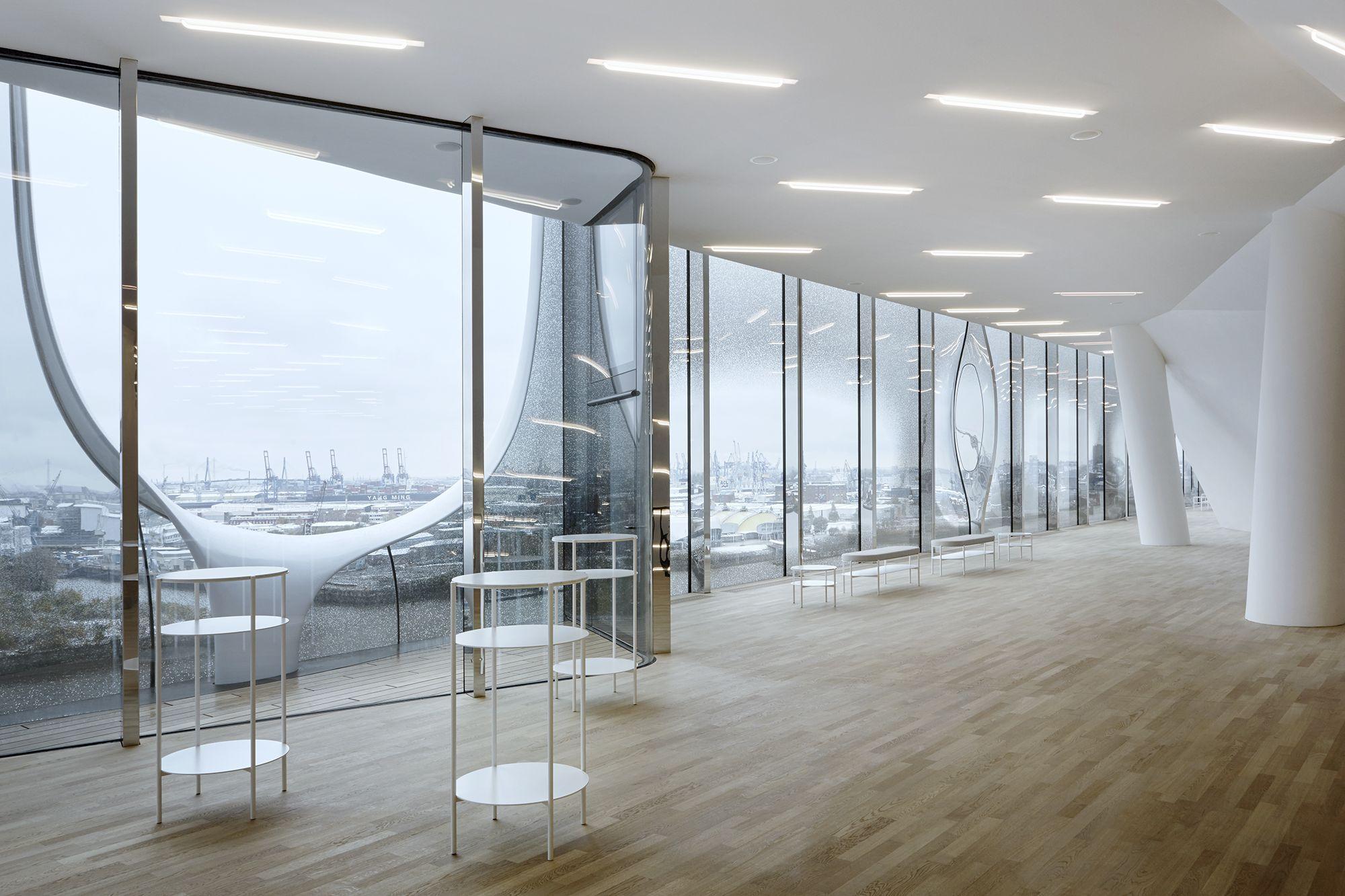 Elbphilharmonie: Möblierung und Architektur im Einklang