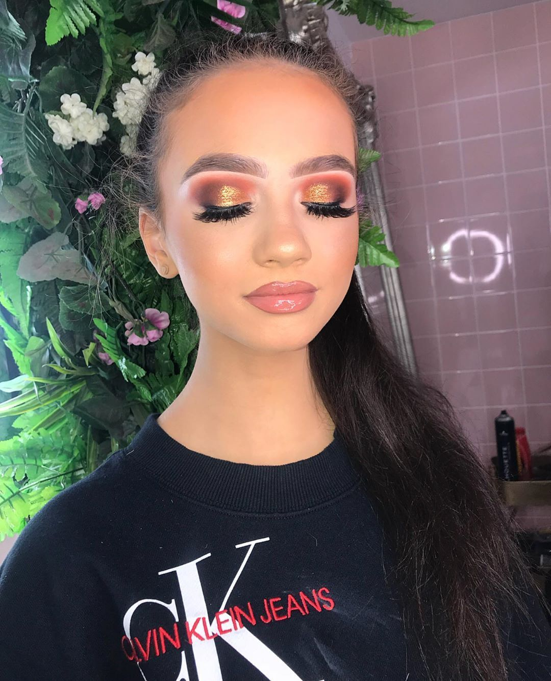 Photo of Bronzed eyes for this little princess… –  Bronzed eyes for this little princes…
