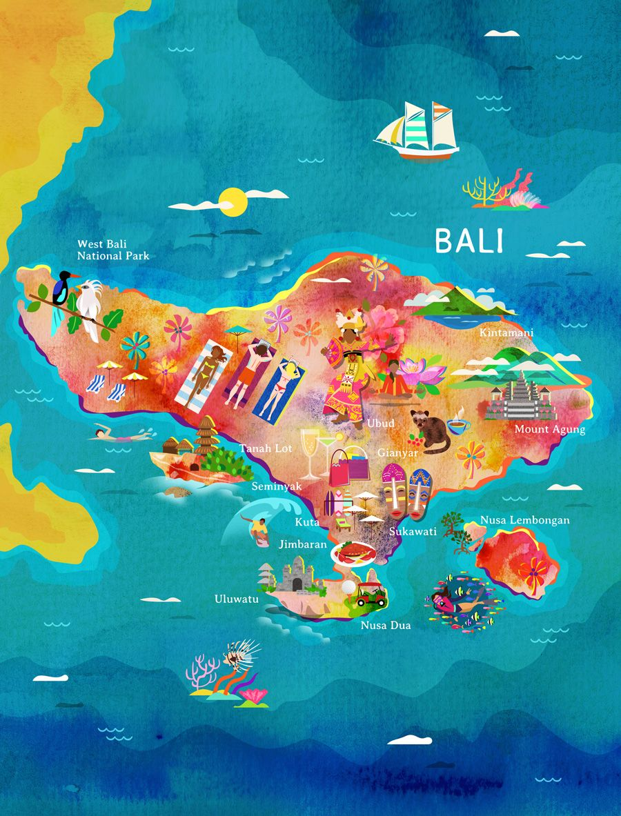 A map of bali for garuda indonesias inflight magazine bali a map of bali for garuda indonesias inflight magazine gumiabroncs Choice Image
