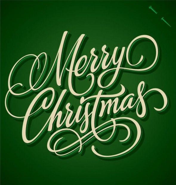 Christmas Typography Designs