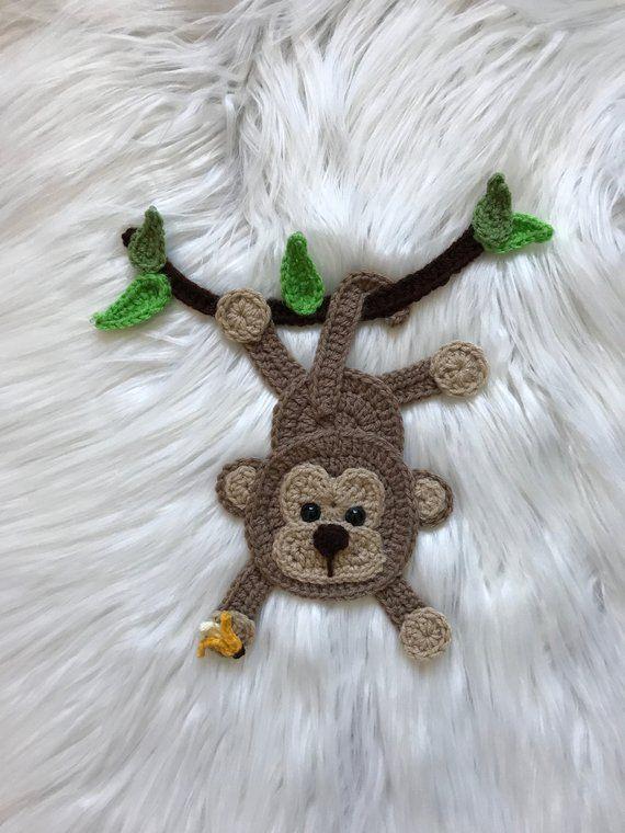 Crochet Pattern – INSTANT PDF DOWNLOAD – Jungle Animals – Crochet Animals – Crochet Jungle Animals – Appliqués – Patterns – Pattern