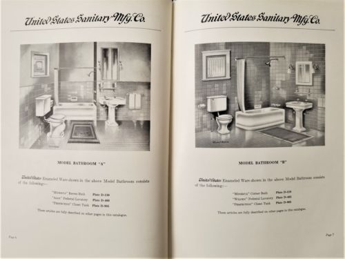 1925-antique-ENAMELED-BATHROOM-FIXTURES-CATALOG-pittsburgh ...