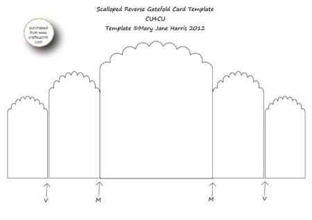 gate fold template