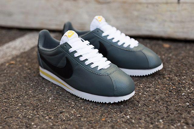 8c4909bbd756 NIKE CORTEZ NYLON (GREY BLACK WHITE) - Sneaker Freaker