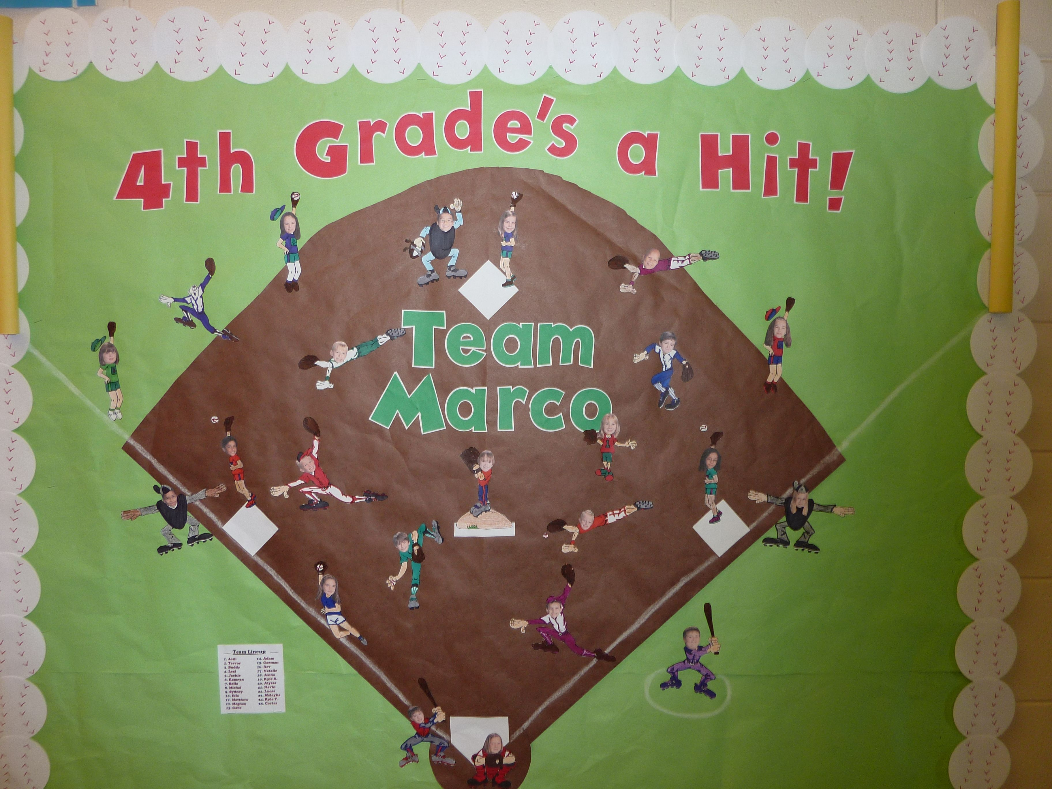 Welcome Back To School With A Baseball Twist