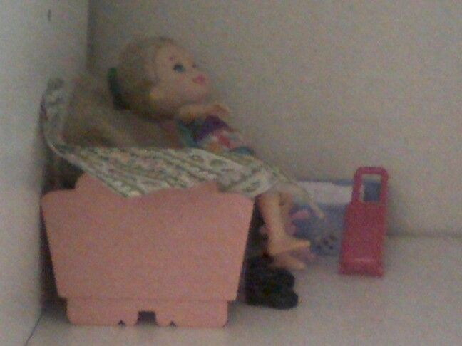 Parte de mi casa de muñecas de antes