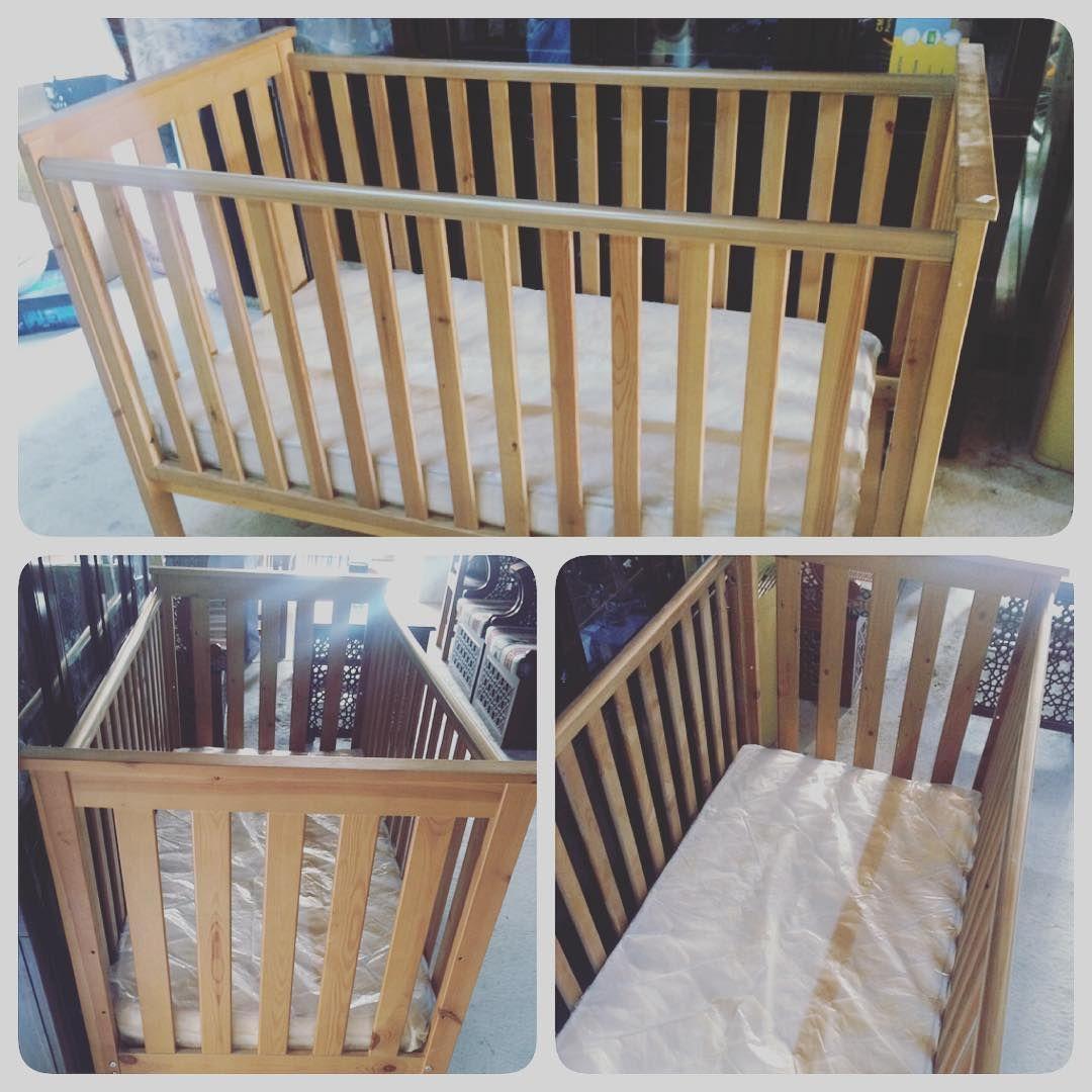 For Sale Baby Bed With Matters 80x150x90 Good Condition Price 30 Bd للبيع سرير أطفال مع ماترس المقاس 80x150x90 بحالة جيدة Home Decor Decor Furniture