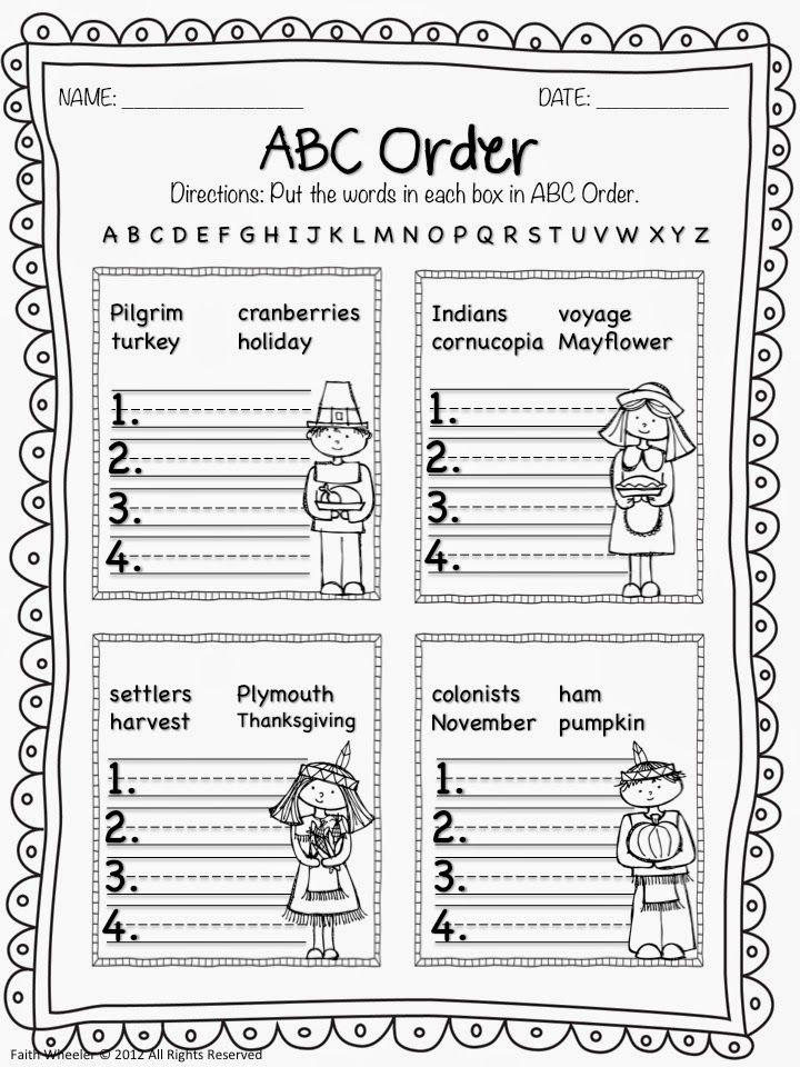 1st Grade Fantabulous: Thanksgiving Fun! | Thanksgiving ...