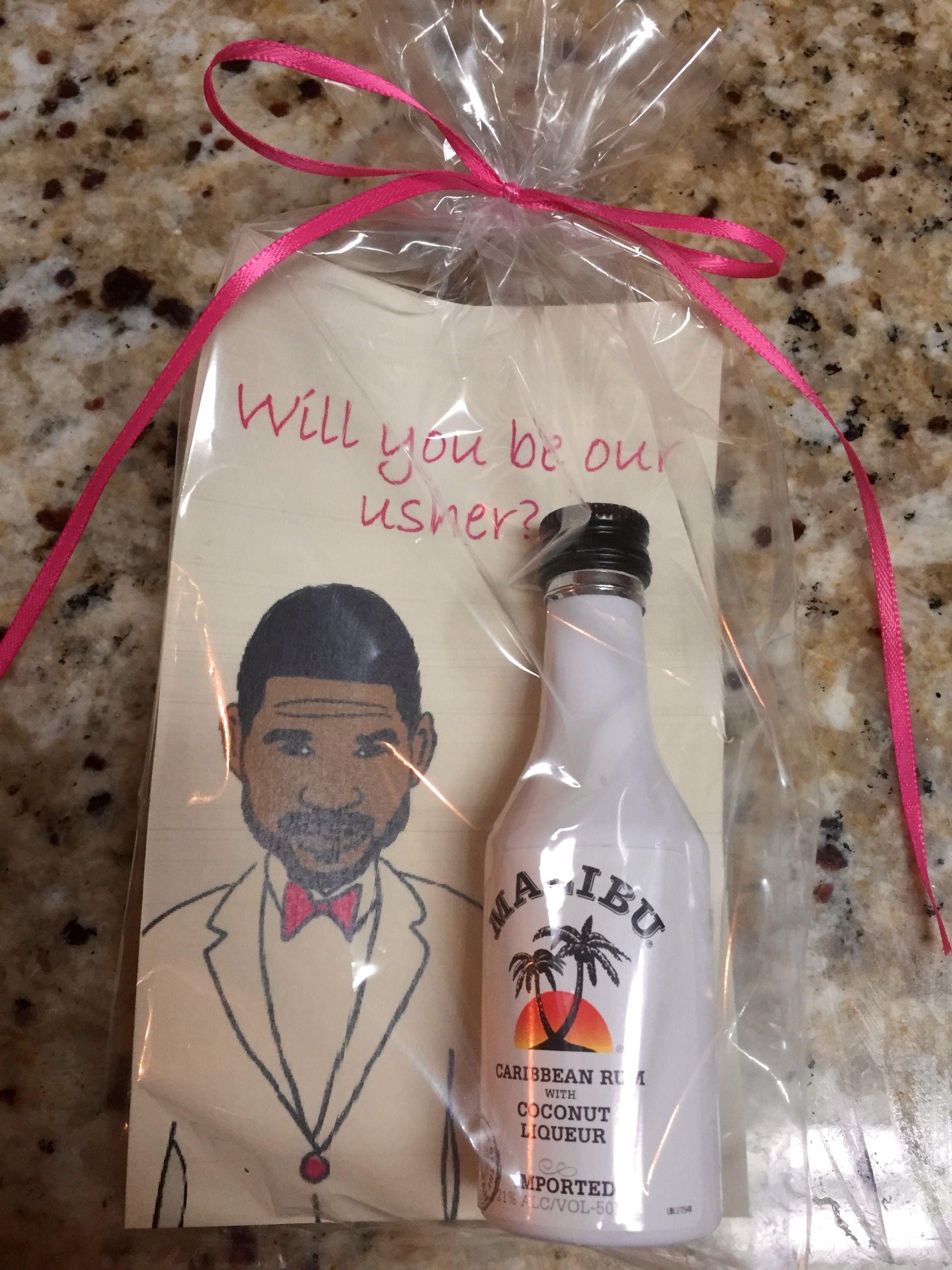 Usher Wedding Gifts: Gift For The Ushers