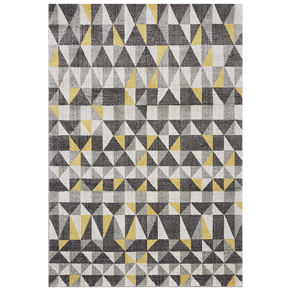 Triangolo Rug Yellow Rug Patterned Carpet Stain Remover Carpet
