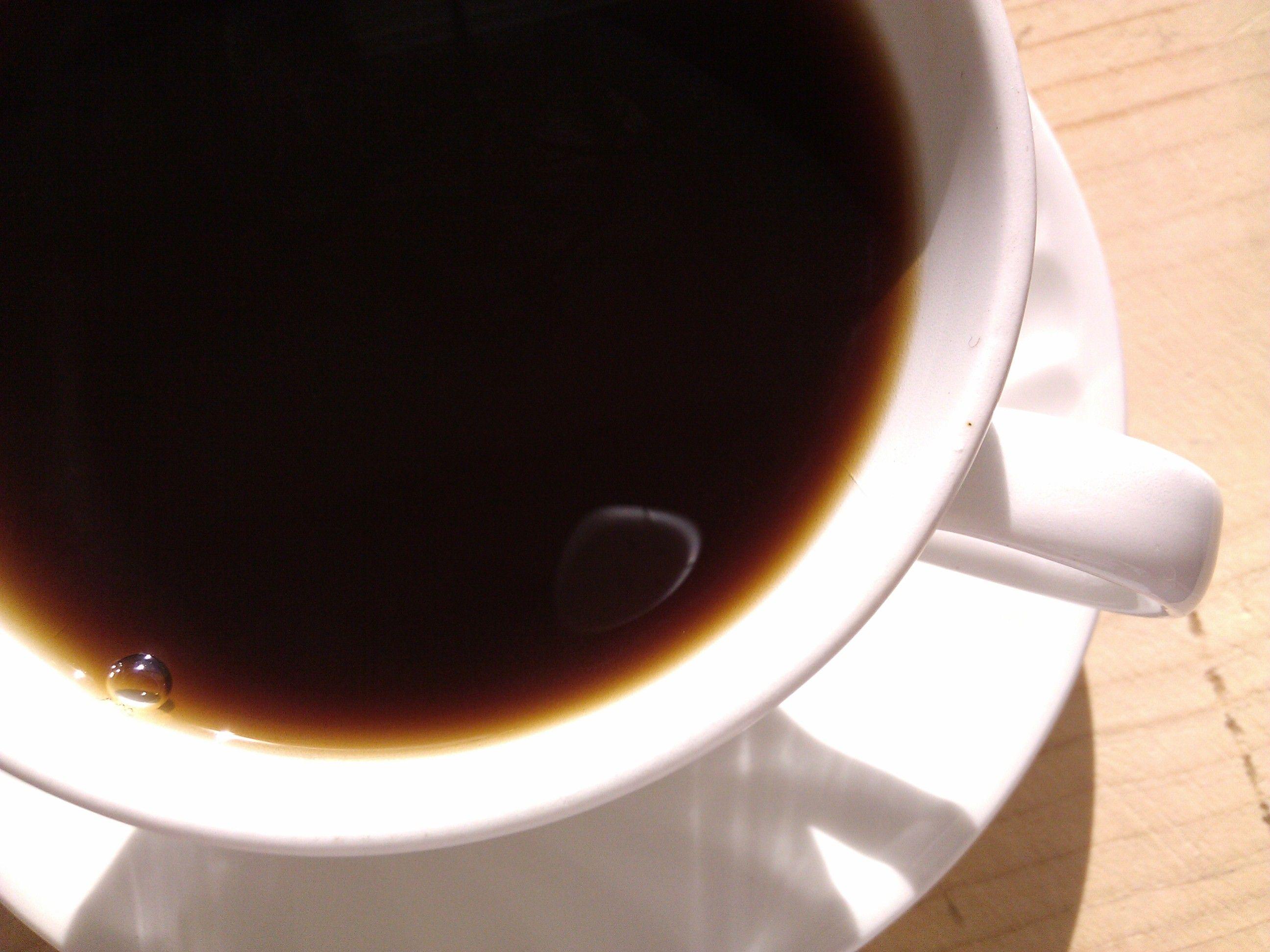 La taza de cafe
