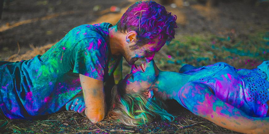 The Color Holi 🌈: ¡Descubrí el color de tu casamiento y llevate un regalito! 1
