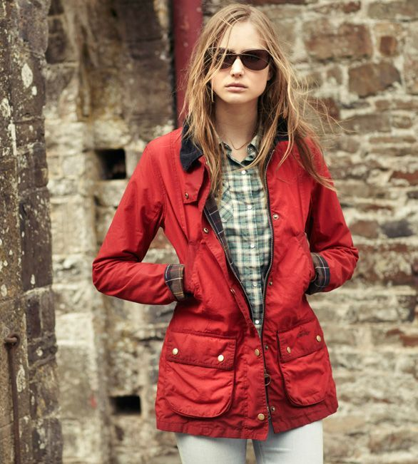 Barbour womens coats and jackets