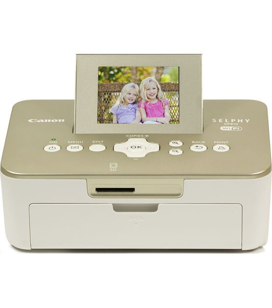 Canon Selphy Cp910 Compact Photo Printer Scrapbooking Tools