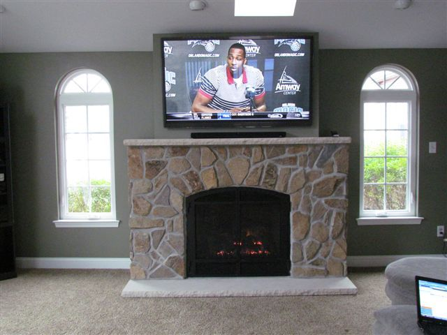 Mendota DXV 45, DXV35, Direct Vent Gas Fireplace, Andover True ...