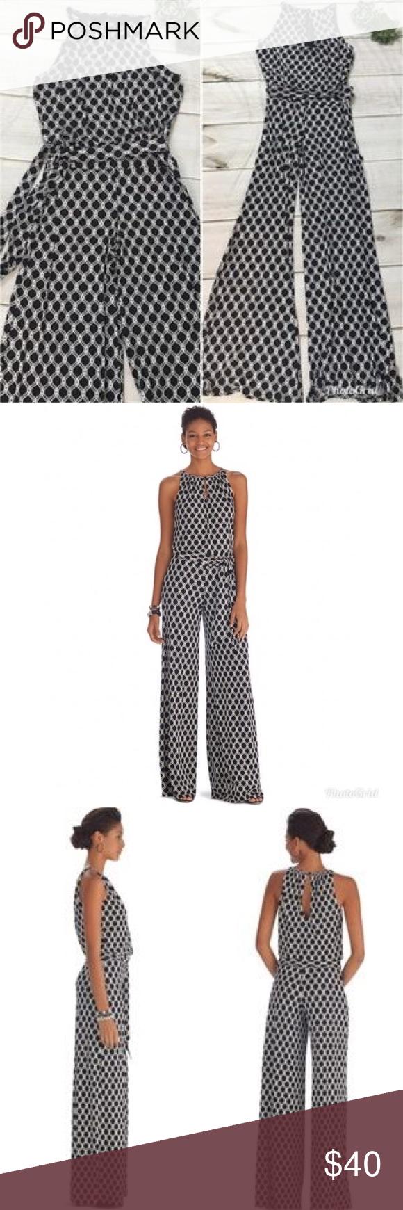 449b34712c1b White House Black Market Jumpsuit size M Beautiful and comfortable. Chic  matte jersey jumpsuit. White House Black Market Pants Jumpsuits   Rompers