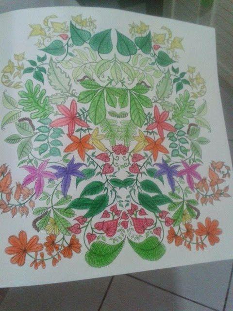 livro jardim secreto johanna basford   Livro pra Colorir - Jardim Secreto - Johanna basford