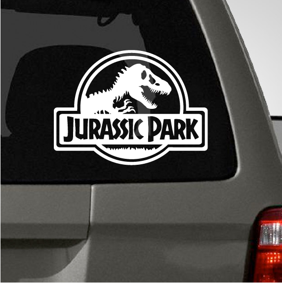 7cb390c657 Jurassic Park Car Decal  8.99+ (http   thedecalguru.com car