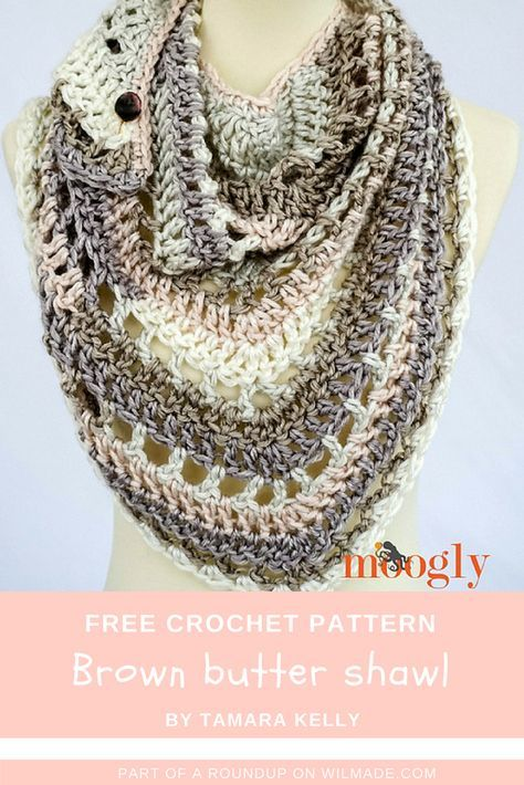 10 Free Patterns For Crochet Triangle Shawls Free Pattern Roundup