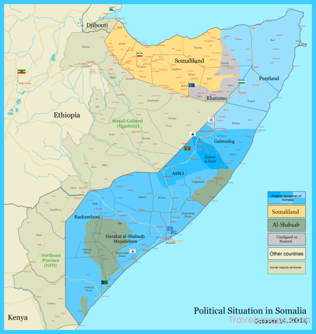 Map of somalia the geography of everything pinterest map of somalia sciox Images