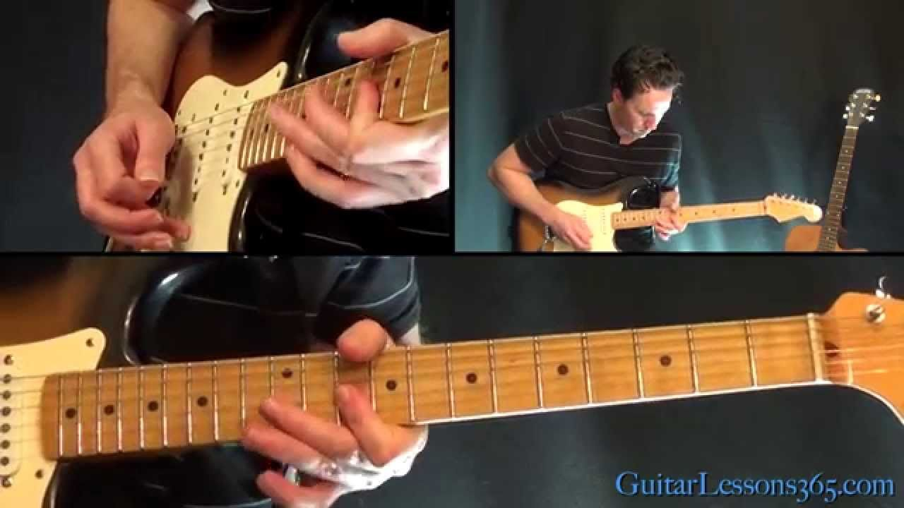 Another Brick In The Wall Part 2 Guitar Lesson Pink Floyd Solo
