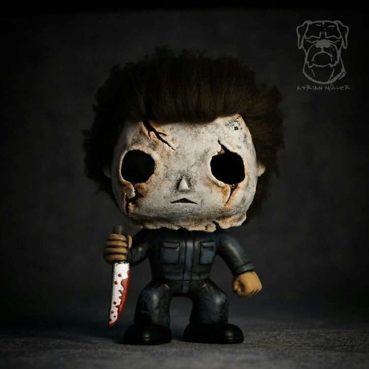 Https Tiredbee Com Post Art 1051 I Customize And Transform Toys And Collectibles Into Handmade Works Of Art Custom Funko Pop Custom Funko Custom Pop Figures