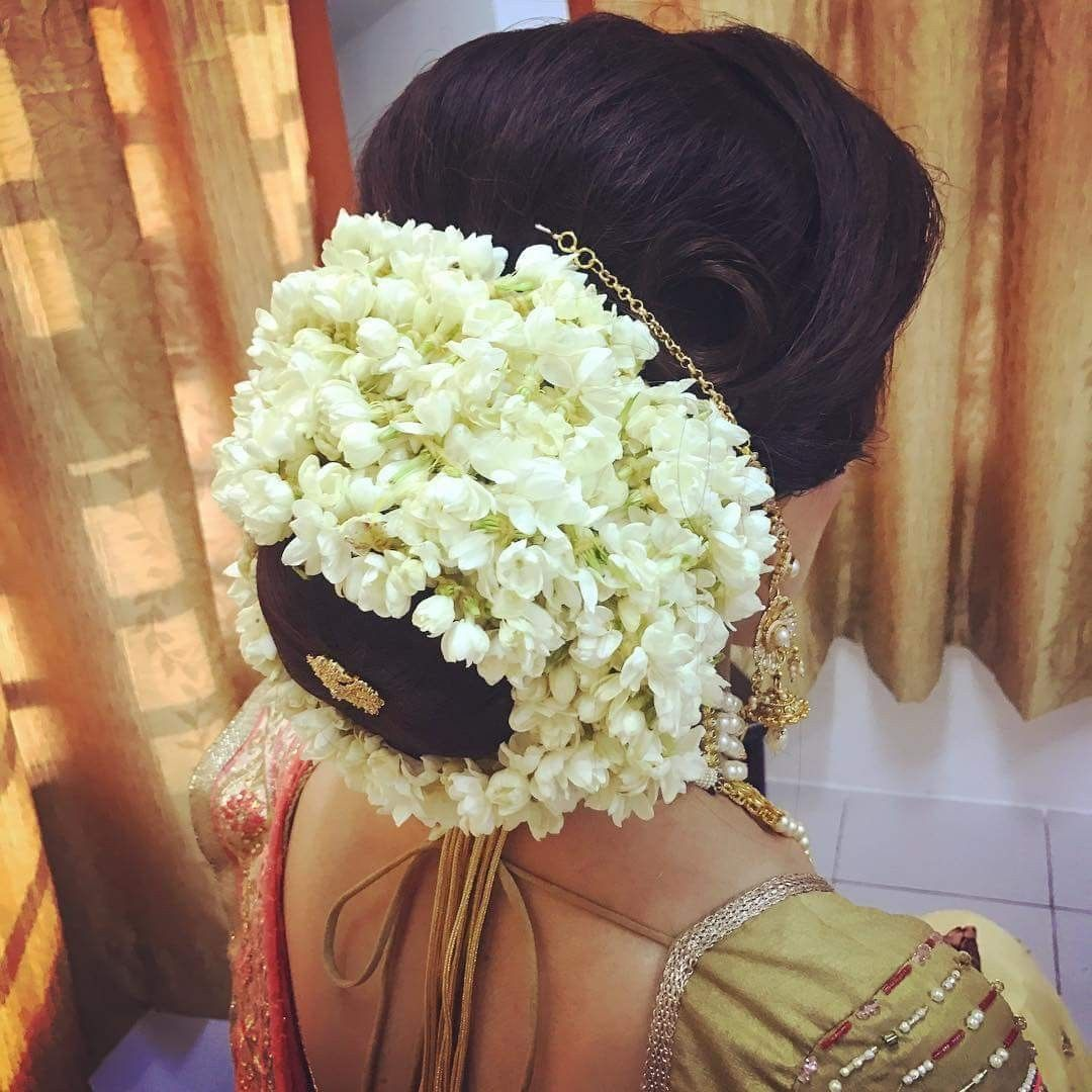 Pin By Sruthi Baiju On Kerala Bridal Hair Style