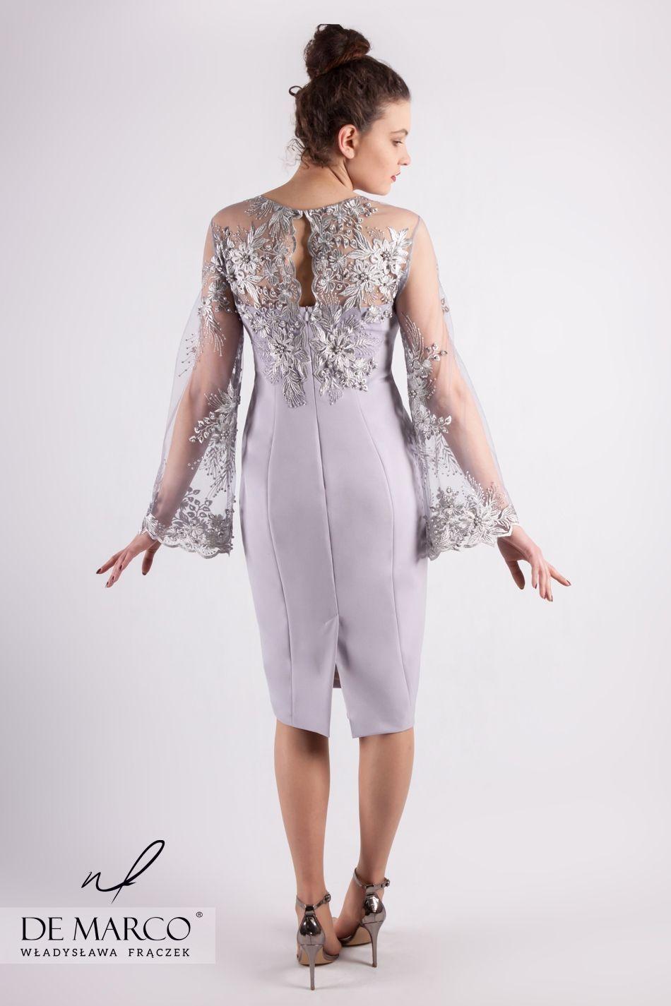 e80c25d94f072b Ekskluzywne sukienki na wesele dla mamy, sklep internetowy De Marco.  #demarco #frydrychowice