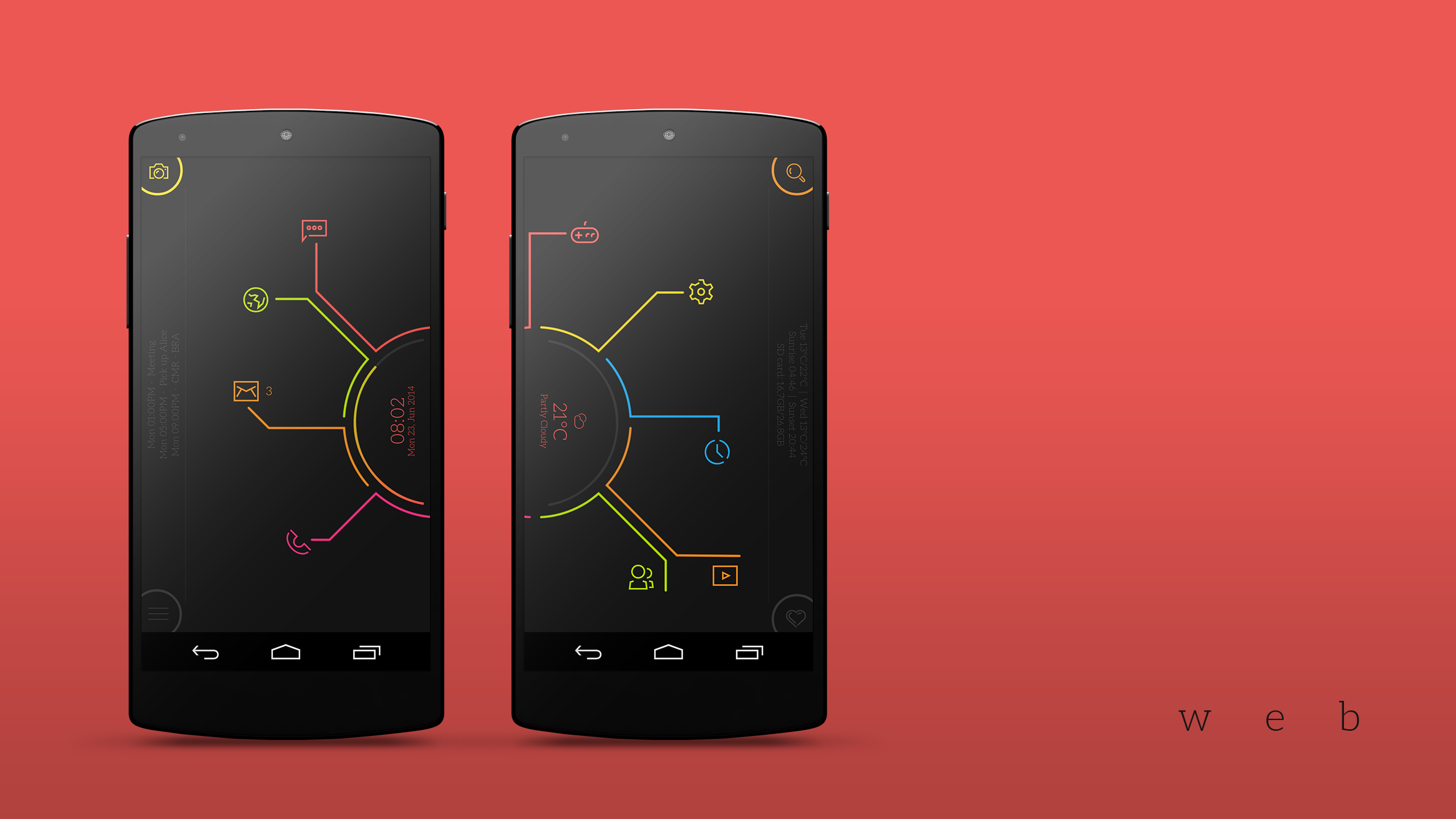 Web Android Homescreen by garyarts - MyColorscreen | Jarvis ...