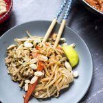Vegan Pad Thai with Peanuts Tofu and Lime  Cook Veggielicious  wfpb