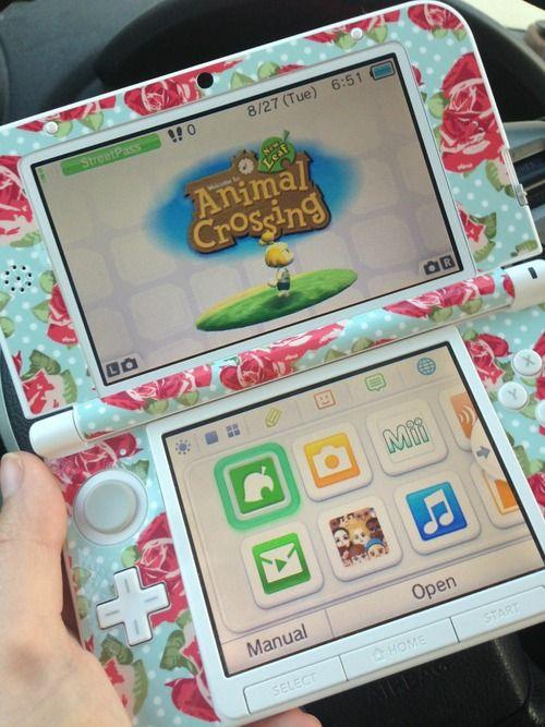 This design is for a 3DS XL, I have a 3DS so it wouldn't fit
