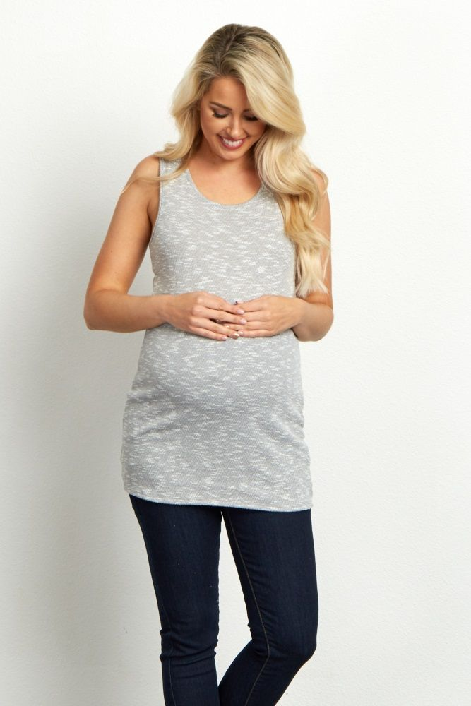 aa4632c834517 The perfect racerback maternity basic that should be in every summer  wardrobe. With its flattering design and comfortable, stretchy fabric, ...