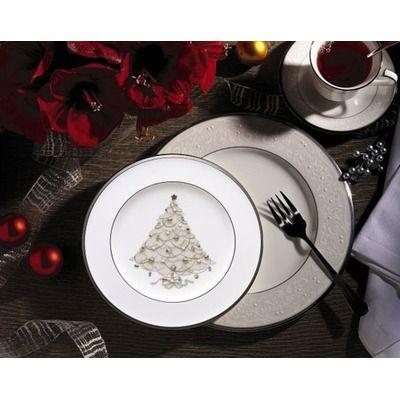 Noritake Palace Christmas Platinum Holiday Collection. LOVE This!!