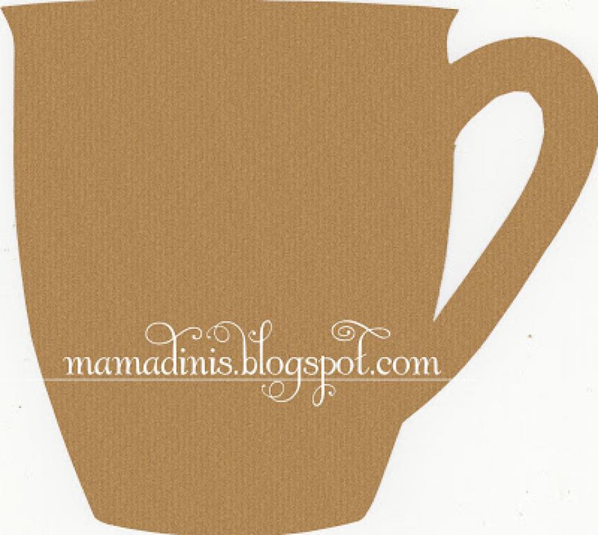 Mama Dini S Stamperia Coffee Mug Template