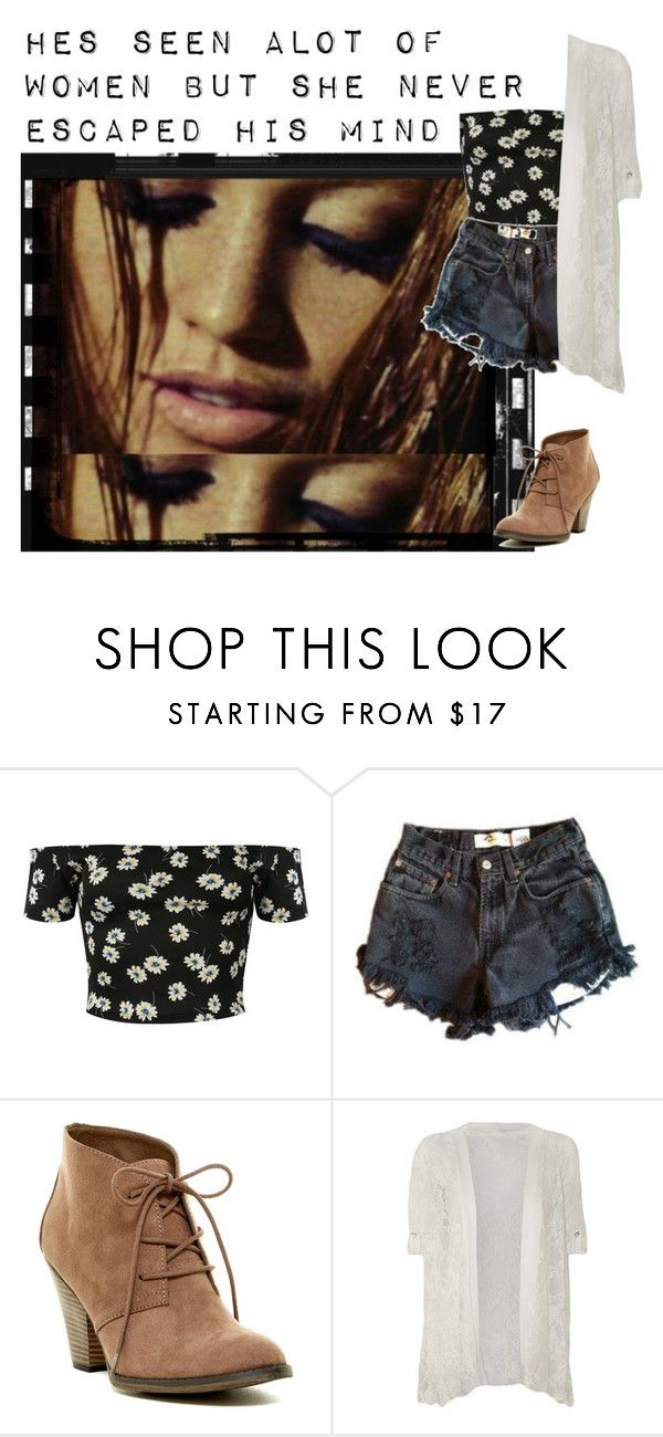 """""""Tangled Up In Blue- Bob Dylan"""" by kimabalee ❤ liked on Polyvore featuring Pilot, Levi's, MIA and WearAll"""